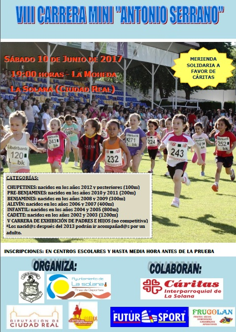 Cartel Carrera Mini